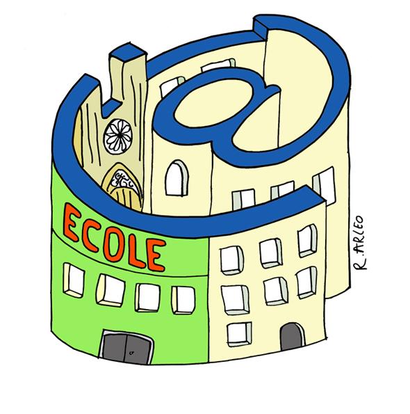 Les écoles de Reims prises dans la toile